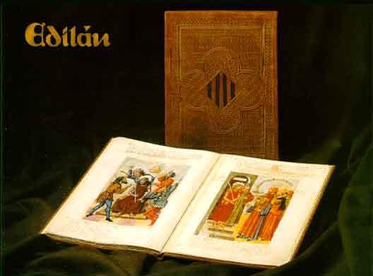 Speculum in spanish medieval manuscript facsimile incunable codice